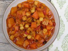butternut squash and chickpea stew | pamela salzman