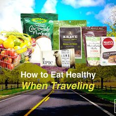 For health conscious individuals, eating out at restaurants has always been tricky.  This article will give you some insight on how to eat healthy when you are on the road!  Blog Post: http://drjockers.com/how-to-eat-healthy-when-traveling/  #Travel #Wanderlust #Health #Conscious #Road #Heal #Organic #Paleo #Grassfed #Doctor #Jockers