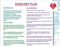dash+diet | Hypertension Dash Diet Dash diet plan