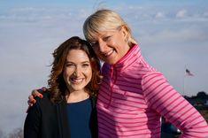 Sally Forrest with Randy Zuckerberg #RandiZuckerberg  #SallyForrest