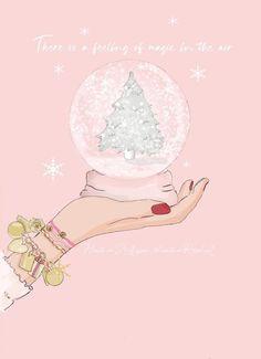 Pink Christmas Decorations, Christmas Art, Christmas And New Year, Winter Christmas, Xmas, Christmas Quotes, Christmas Stuff, Bon Weekend, Christmas Wonderland