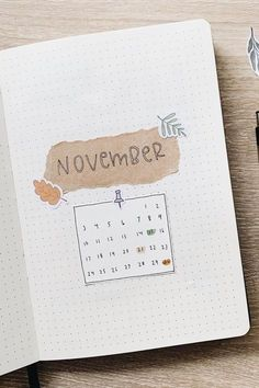 Creative November Monthly Cover Ideas For 2020 - Crazy Laura <br> If you're chaning up the look of your bullet journal this Fall then you need to check out these super creative november monthly cover ideas for inspiration! Bullet Journal Inspo, Planner Bullet Journal, Bullet Journal Cover Page, Bullet Journal 2020, Bullet Journal Aesthetic, Bullet Journal Spread, Bullet Journal Layout, Bullet Journals, Journal Inspiration