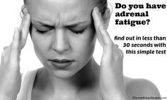 A Simple Way to Test for Adrenal Fatigue - At Home!