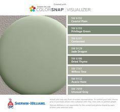 Sherwin Williams color match for Restoration Hardware Bay Laurel