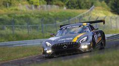 Cars - Vidéo : la Mercedes-AMG GT3 déjà en course au Nürburgring !  - http://lesvoitures.fr/video-mercedes-amg-gt3-nurburgring/