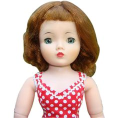 1950s Madame Alexander Cissy Doll Redhead Tosca Hair Beautifully from americanbeautydolls on Ruby Lane
