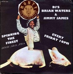 DJ Brian Waters & DJ Jimmy James tag team the decks on Friday nights here with an all vinyl set of mojo that makes booties twitch! At 10, no cover!