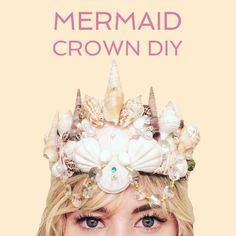 How to Make a Mermaid Shell Crown