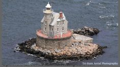 Race Rock Lighthouse Southwest of Fisher's Island, New York
