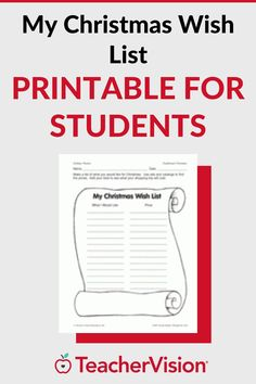 In this printable activity, students generate a Christmas wish list and calculate the costs of the items they desire. This is a great way for students to practice their math skills while enjoying planning for the holidays.