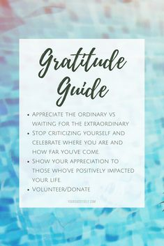 Are you feeling anxious, fearful, unfulfilled? Allow this gratitude guide to bring you back to shift your perspective and help you live the life you want. Grateful Quotes, Gratitude Quotes, Attitude Of Gratitude, Grateful Heart, Gratitude Journals, Thankful, Crush Quotes, Quotes Quotes, Cliche Quotes