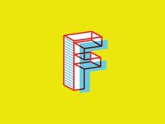 F Letterform