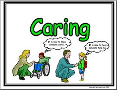 Character Education: Caring Poster