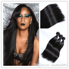 brazilian straight hair weave bundles unprocessed virgin brazillian peruvian indian malaysian cambodian straight remy human hair extensions from seashine001 can help your hairs look thicker. weft hair are made of human hairs. Using hair weave styles and black hair weave styles can make you feel more confident.