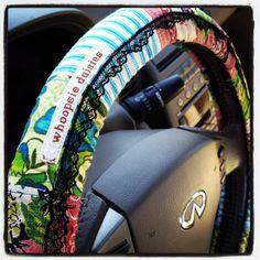 Pretty Hippie Chic Steering Wheel Cover $20 #repurposed #boho