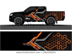 Similar Images, Stock Photos & Vectors of Truck Graphic. Abstract modern lines graphic design for truck and vehicle wrap and branding stickers - 1062326225 Navara D40, Nissan Navara, Vehicle Signage, Bmw Autos, Van Wrap, 3d Modelle, Truck Decals, Truck Design, Land Rover Defender