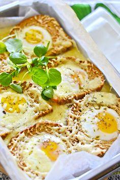 maistuu makialle: Croque Madame -Aamiaisvuoka