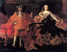 Maria Theresa and Francis Stephen, by Peter Kobler von Ehrensorg.