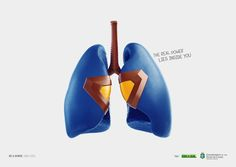 Publicité - Heroic advertising campaign - Be a donor, save lifes: The real power lies inside you Print Advertising, Creative Advertising, Advertising Campaign, Print Ads, Marketing And Advertising, Visual Advertising, Ads Creative, Creative People, Marketing Ideas