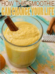 How this Turmeric Smoothie can change your life. If you are craving an absolutely delicious, tropical smoothie with enough anti-cancerous, anti-viral, anti-bacterial, anti-inflammatory, and anti-fungal properties then you've come to the right place. Adding one simple ingredient to your everyday smoothie can add some big health boosters to your life. Here's a great recipe that will have you coming back for seconds.