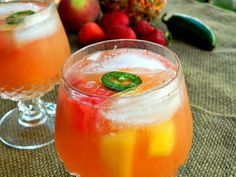If you're looking for an special sangria recipe, just try our Spicy Sangria... Let it cool down before it heats you up!