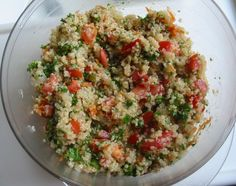 /\ /\ . Tabouli with Hemp Seed GF