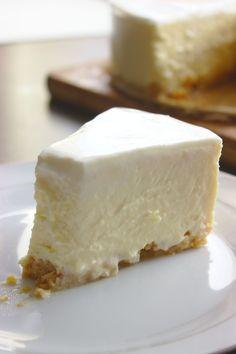 Sernik Nowojorski | Słodkie Gotowanie Food L, Food Cakes, Sweet Cakes, Feta, Cookie Recipes, Nom Nom, Cheesecake, Food And Drink, Sweets