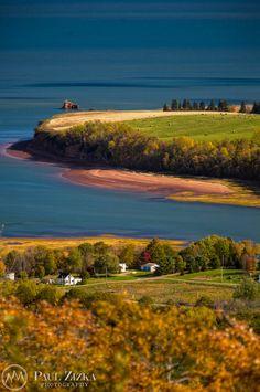 North Medford and the Minas Basin from the Look-Off, Annapolis Valley, Nova Scotia. O Canada, Canada Travel, Ontario, Acadie, Annapolis Valley, Atlantic Canada, Cape Breton, Take Better Photos, Prince Edward Island