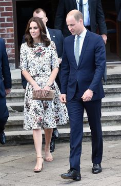9135bfdda5 Duke and Duchess of Cambridge visit the concentration camp Stutthof in  Gdansk in day 2 of