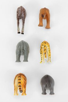 animal butt magnets by urban outfitters Plastic Animals, Ripped Denim, Art Auction, Auction Ideas, Just For Fun, Make Me Smile, Urban Outfitters, Lion Sculpture, Cool Stuff