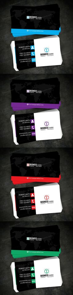 The GLOBAL business card is designed with four different colors , CMYK profile , standard size and is fully customizable. tookaarts
