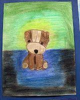 Mrs. Art Teacher!: Chalk pastel stuffed animals