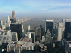Central Park desde Top of the Rock - Nueva York (USA)