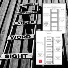 Word Ladders, Sight Word Worksheets, Special Words, Work Activities, Grade 3, Sight Words, New Words, Spelling, Vocabulary