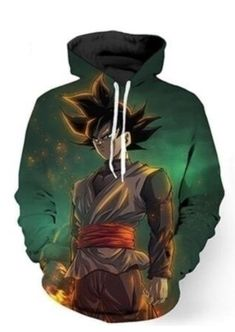 Men's Clothing Dragon Ball Men Hoodies Jacket Japan Anime Dragon Ball Z Dbz Goku Zip Hooded Sweatshirt Tops Male Long Sleeve Pocket Pullover Cleaning The Oral Cavity.