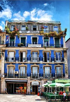 Old building in a traditional district of #Lisbon #Portugal