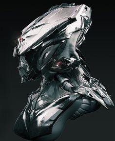 error888:  concept robots: Robot by David Lesperance