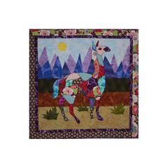 Yolanda Llama Applique Quilt Pattern by BJ Designs and Patterns by BeaverheadSupplies, $14.50
