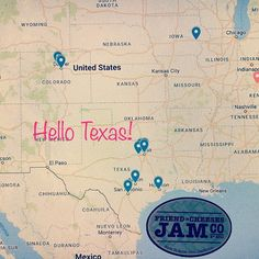 Hello Texas!! Look out for our mini jars of Forbidden Fruit Marmalade Pinot Cherries Smokin Padron Jam and Salted Watermelon Jelly on the shelves in the cheese departments of all 9 Central Markets!! Send us photos and tag us!! Show us your Texas jams! @central_market #everythingsbiggerintexas #higherthehairclosertojam #slapsomejamonthat