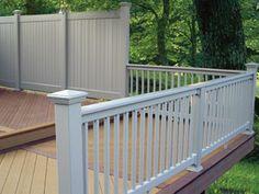 deck rail, privacy