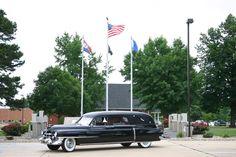 Vintage Cadillac Hearse