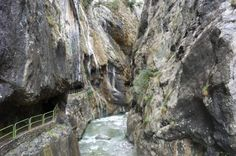 """Hiking in """"Ruta de Cares"""", Picos de Europa National Park Mount Rushmore, Waterfall, Hiking, Mountains, Holiday, Nature, Travel, Outdoor, Paths"""