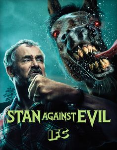 Картинки по запросу stan against evil season 2 poster
