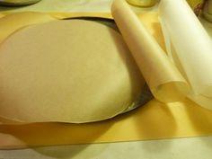 Pečící papír na placky