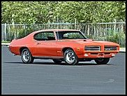 1969 Pontiac GTO Judge - wicked mucle car.