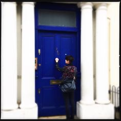 Hipstamatic Oggl - The blue door of Notting Hill Notting Hill, Tall Cabinet Storage, Doors, Blue, Home Decor, Decoration Home, Room Decor, Doorway, Interior Decorating