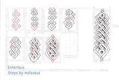 Zentangle Border Pattern | ... celtic inspired pattern. This one makes a nice border or string
