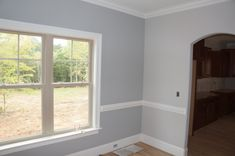 Sherwin Williams gray clouds left and big chill right Home Decor Colors, Interior Paint Colors, House Colors, Interior Design, Ryland Homes, Home Wall Colour, Blue Gray Paint Colors, Sherwin Williams Gray, Big Chill