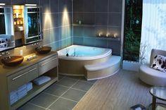 Современные 😌 ванные комнаты — это игра цветом и формами, материалами и фактурой, разнообразие сантехники и мебели, прямые линии и геометрические орнаменты, сочетания натуральных оттенков и текстур #Мебель #ванна #современныйстиль  Более 2600 товаров в разделе, только #бренды: http://santehnika-tut.ru/mebel-dlya-vannoj/v-sovremennom-stile/