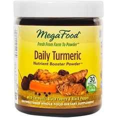 MegaFood - Daily Turmeric Booster Powder, Promotes Healthy Aging & Well-Being, 30 Servings (2.08 oz) (FFP) * Find out more about the great product at the image link.